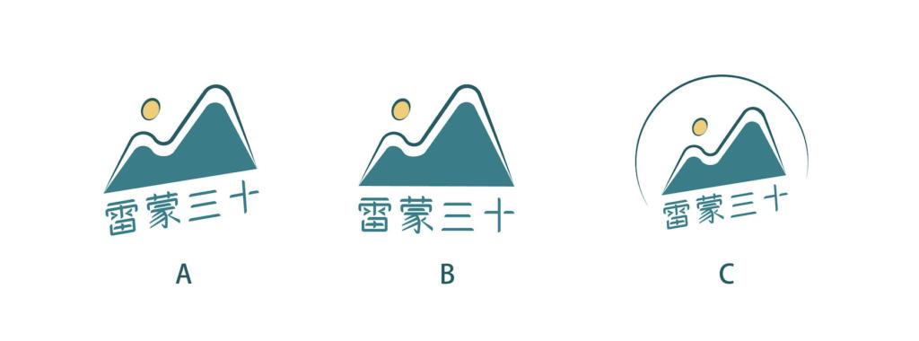 雷蒙三十 podcast 設計 Logo|設計師:杏仁