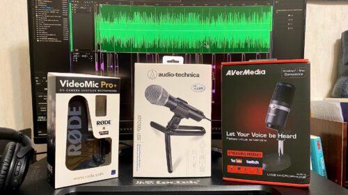 【聲音開箱】男女聲 Podcaster 鐵三角 ATR2100x USB 動圈麥克風&Rode VideoMic Pro+ 設備選擇?