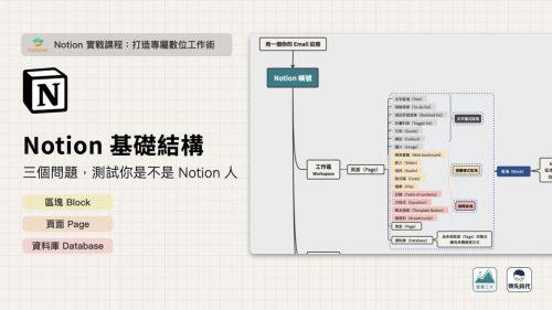 快速上手 Notion,你需要先瞭解基本結構(Block、Page、Database)